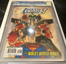 Justice League of America #12 Michael Turner Variant CGC 9.6 L@@K!