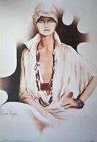Sara Moon Lisa Poster Kunstdruck Bild 99x68cm