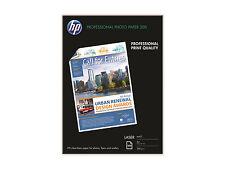 HP Laser Photo Paper Matt A4 200gsm White Pkt 100 Sheets