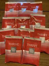 11 Packets Le-Vel Level Thrive Premium Lifestyle-Mix Strawberry  Shake