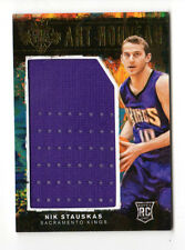 Nik Stauskas NBA 2014-15 Tribunal reyes camisetas de estilo Art Nouveau (Sacramento Reyez)