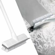 "Floor Scrub Brush With Long Handle 50"" Stiff Bristles For Cleaning Scrubber New"