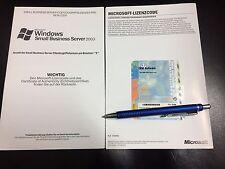 5 User CALs für Microsoft Small Business Server 2003 (SBS) mit MwSt-Rechnung