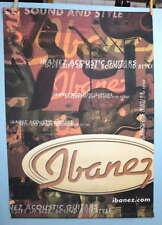 Ibanez Guitar Ibanez.Com Large 2 x 3 Ft. Music Dealer Display Sign Banner #388