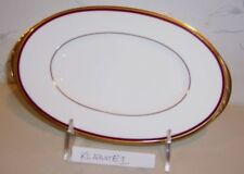 "NEW Noritake GOLDEN TRIBUTE 14"" Oval Serving Platter - Bone China - BRAND NEW"
