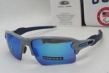 "OAKLEY grey/ sapphire ""PRIZM"" TEAM USA FLAK 2.0 XL OO9188-8959 sunglasses! NEW!"