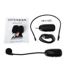UHF Wireless Microphone Professional Headwear Mic for Voice Amplifier Computer