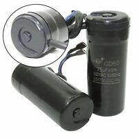 CD60 Start Motor Kondensator 330 VAC 50/60 Hz Mfd 47uF /64uF/75uF/80uF/88-108uF