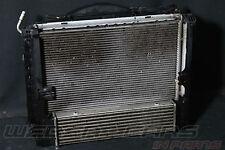 org BMW X1 E84 20i Wasser Kühlerpaket LLK Klimakondensator Lüfter 600W 7545366