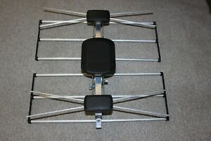 """Caravan or RV UHF TV Antenna """"RPA2"""" with cable and connectors"""