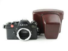 Leitz Portugal Leica R 3 electronic SLR Spiegelreflexkamera + Gurt und Tasche