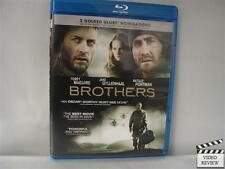 Brothers (Blu-ray Disc, 2010) Tobey Maguire Jake Gyllenhaal Natalie Portman