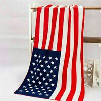 Flag with Dollar Cotton Bath Towels Beach Towels Yoga Towels Home Decor Blankets