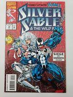 SILVER SABLE & THE WILD PACK #19 (1993) MARVEL COMICS SIEGE OF DARKNESS! VENOM!