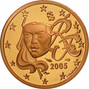 [#462123] Monnaie, France, 2 Euro Cent, 2005, FDC, Copper Plated Steel, KM:1283