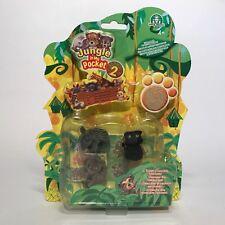 The original Jungle in My Pocket series 2-tapir, un mono, oso + sorpresa