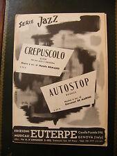 Partition Série Jazz Crepusculo Romano Autostop de Martini