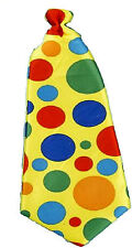 Extra Large Jumbo Polka Dot  Novelty Clown Long Neck Tie Costume Accessory