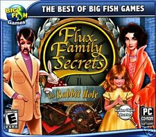 BIG FISH GAMES: FLUX FAMILY SECRETS - THE RABBIT HOLE. SHIPS FAST and SHIPS FREE
