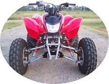 Honda TRX 250EX, 250X A-arms & Shocks ATV Widening Kit