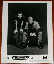 FILTER 8x10 B&W Press Photo Reprise Records 1995 Richard Patrick