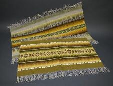 2 Gorgeous Vintage MID CENTURY Fabric Weaving Fiber Art WALL HANGINGS  Textiles