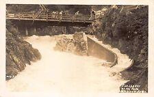 Real Photo Postcard Fish Ladder at the Falls in Ketchikan, Alaska~109673