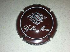 Capsule de champagne MENU Gilles (73. marron et blanc)