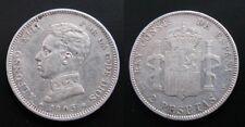 ALFONSO XIII , 2 PESETAS DE 1905  . PLATA