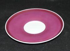 Rosenthal Studio Line Variation Rosette rot rose Untertasse 14,2 cm Dm