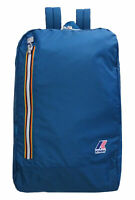 Zaino K-Way K-Pocket Backpack Uomo Men Donna Woman 100% NYLON Blue Avio K1331