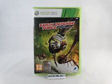 EARTH DEFENCE FORCE INSECT ARMAGEDDON MICROSOFT XBOX 360 PAL ORIGINALE COMPLETO