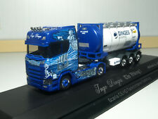 Herpa Scania CS 20 HD Tankcontainer-Sattelzug Ingo Dinges in PC 121811