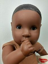 """Melissa & Doug MINE TO LOVE Gabrielle AA Brown BABY DOLL African American 12"""""""