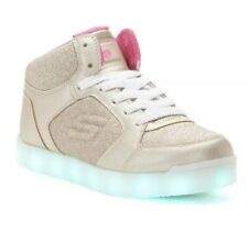 New Without Box Girls Energy Lights Sneakers By Skechers