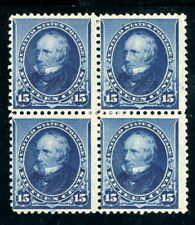 USAstamps Unused VF US 1890 Issue Clay Block Scott 227 OG MHR