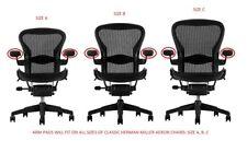 New vinyl armpads for classic Herman Miller Aeron Chairs (1 pair)