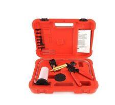 Brake Bleeder & Vacuum Pump Test Tuner Kit w/ Gauge Automotive Mechanics