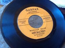 Bobby(Boris) Pickett Monster Mash 45 GARPAX Leon Russell On Piano