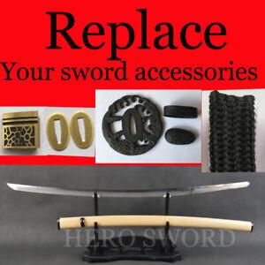 Custom Japanese Katana wakizashi Tanto Samurai Sword Handmade High Quality Knife
