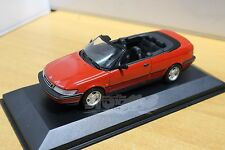 MINICHAMPS 430170532 Saab 900 Cabriolet 1995 Red 1/43 #NEW