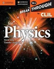 Breakthrough to CLIL for Physics Workbook, Chadwick, Timothy, Sang, David, Very