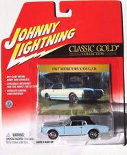 JOHNNY LIGHTNING R16 CLASSIC GOLD 1967 MERCURY COUGAR RLT Rubber Tires