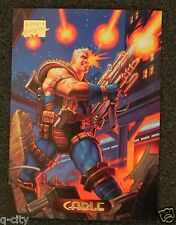 CABLE Promo Card from 1994 Marvel Masterpieces _ Low Mailing Cost
