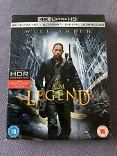 I Am Legend (4K Ultra HD + Blu-ray) Will Smith, Alice Braga, Charlie Tahan