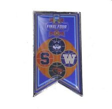 "2016 Women's Basketball Final Four Lapel Pin Banner Design NCAA Licensed 2"" High"