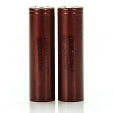 2x LG HG2 IMR 18650 3000mah 20A Rechargeable Batteries Flat Top Brown Battery