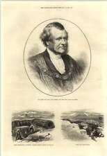 1871 Sills John Gibbons New Lord Mayor Of London Sap Roller Chatham