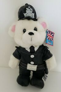 """Toy Network Bears of the World, """"William"""" a Policeman Bear from England, 13"""""""""""