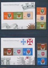 XC39555 Portugal heraldry coat of arms sheets XXL MNH